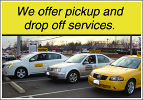 Pickup and drop services